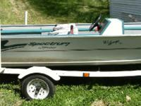 1997 Fisher Spectrum Avenger, Gas fuel, 100 miles,