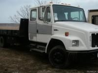 This truck has a 5.9 cummins and 6 spd. its equipt with
