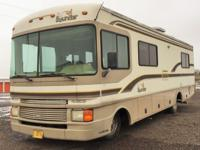 Manufactured by Fleetwood, this 1997 Class A Bounder