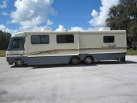 1997 Fleetwood Pace Arrow Vision 36B Model. Chevy