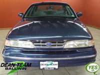 1997 CROWN VICTORIA LX! QUITE LOW MILEAGE! ONE