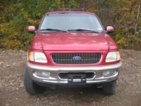 THIS 1997 FORD EXPEDITION LOOKS VERY NICE INSIDE AND