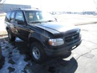 This 1997 Ford Explorer 2dr 2dr 102 WB XL SUV features
