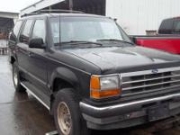 1997 Ford Explorer 4.0 Liter Engine  ALL BODY PARTS ARE