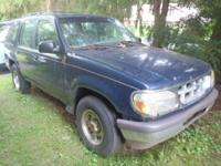 HERE IS A USED 1997 FORD EXPLORER XL 4WD 4 DR FOR PARTS