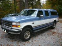 Ford F-250, 183,500 miles, automatic, 4x4, great