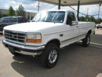 Options Included: 3.55 Axle Ratio, Four Wheel Drive,