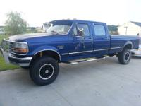 I am selling a 97 Ford F350 4x4 with the 7.3 turbo