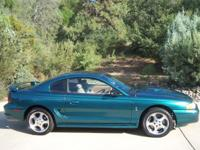 I have a 1997 Ford Mustang Cobra for sale. The car has