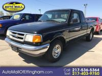 BACK to the BASICS in this FORD RANGER is a XLT with