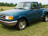 This 1997 Ford Ranger XLT stepside is a very clean and