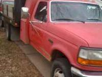 1997 FORD TRUCK WITH 7.3 POWERSTROKE AND 5 SPEED TRANS.