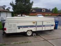 1997 Forest River Rockwood Pop-Up Travel Trailer This