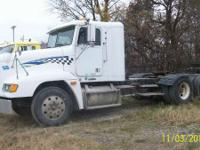 1997 Freightliner FLD120 DAYCAB WITH WET KIT Truck is