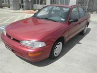 Since this respectable 1997 Geo Prizm is the Sedan