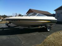 Clean, good condition Glastron SSV hull runabout with a