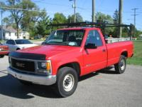 1997 GMC 2500 Regular Cab Long Bed VIN: