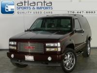 Options Included: N/AWhy buy this 1997 GMC Yukon GT