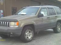 1997 Grand jeep cherokee Laredo, 160,000 miles, runs