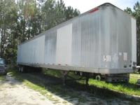 1997 Great Dane Logistics Trailer w Wheels. Has 75%