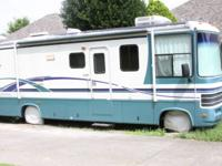 "Class ""A"" motor home with very Low mileage, good"