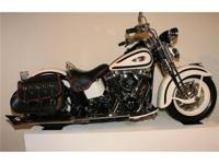 This 1997 Harley-Davidson was disassembled and