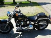 1997 harley davidson fatboy for sale has 53,000 miles