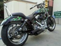 1997 HARLEY DAVIDSON FXR Green Monster 1997 Special