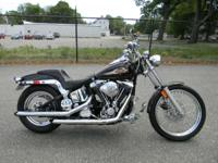 1997 Harley-Davidson SOFTAIL BLACK ONLY 23858 MILES