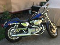 1997 Harley-Davidson Motorcycle XL1200, CUSTOM PAINT,