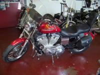 1997 Harley Davidson XL 883 Miles: 14675 Mostly Stock