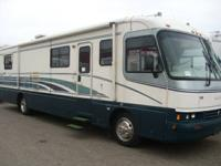 Very spacious 38' Class A Diesel with a slide. Unit