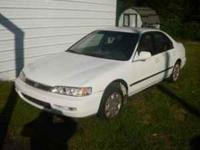 Parting out 1997 Honda Accord 4 Door Runs Great parting