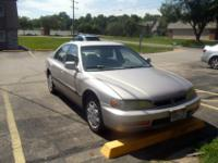 Honda Accord in excellent mechanical condition.