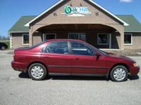 Options Included: N/ALooking for great gas mileage and