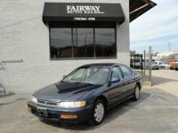 Options Included: N/A1997 Honda Accord LX, 4-Cylinder,