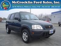 Options Included: N/APreowned 1997 Honda CR-V All-Wheel