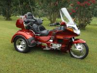 1997 Honda Goldwing Trike is in exceptional condition,
