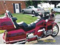1997 Honda Goldwing SE Touring This Goldwing is in