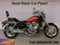 1997 Honda Magna 750 motorcycle - Only 8,611 miles!