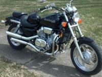 Like New 1997 Honda 750 Magna. Excellent condition,
