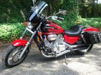 1997 Honda Magna VF750, with just 6,863 miles. This