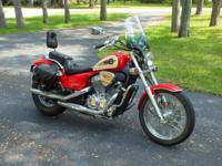 1997 Honda shadow VT600 C/CD VLX/ Deluxe, 4 speed,