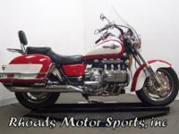 1997 Honda Valkyrie GL1500T with 60,704 Miles. This