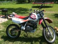 Up for sale is a 1997 Honda XR650L enduro bike its