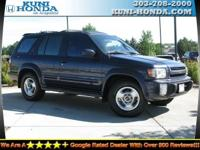 Options Included: (J01) Pwr Sunroof, Four Wheel Drive,