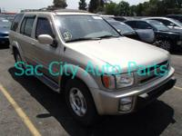 "Sac City Auto Parts  ""Parting Out a 1997 Infiniti QX4"