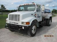 1997 International 4900 S/A Water Truck 1997