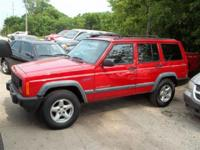 Options Included: 97 Jeep Cherokee 4x4, 196270 miles,