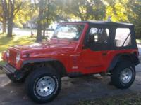 Clean little Jeep a steal at this price! Great first